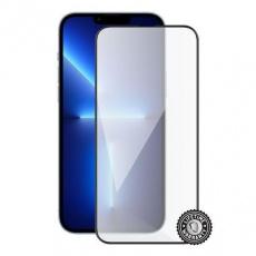 Screenshield ochrana displeje Tempered Glass pro APPLE iPhone 13 Pro Max (full COVER), černá