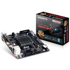 GIGABYTE MB J1800N-D2H, Dual-core Celeron® J1800 SoC (2.41 GHz), Intel NM10, 2xDDR3, VGA, Mini-ITX