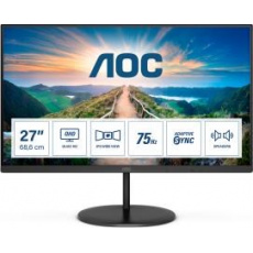 "AOC MT IPS LCD WLED 27"" Q27V4EA - IPS panel, 2560x1440, HDMI, DP, repro"