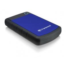 """TRANSCEND externí HDD 2,5"""" USB 3.0 StoreJet 25H3B, 2TB, Blue (nárazuvzdorný)"""