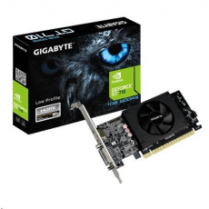 GIGABYTE VGA NVIDIA GeForce GT 710, 1GB DDR5 Rev. 2, 1xHDMI, 1xDVI-I