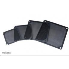 AKASA prachový filtr  GRM120-AL01-BK, 120mm, hliník