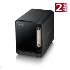 Zyxel NAS326 2-Bay Personal Cloud Storage, datové úložiště, 1x gigabit RJ45