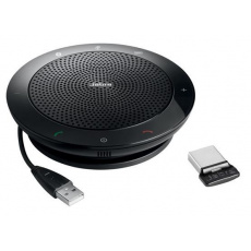 Jabra hlasový komunikátor všesměrový SPEAK 510+, MS, USB, BT, černá