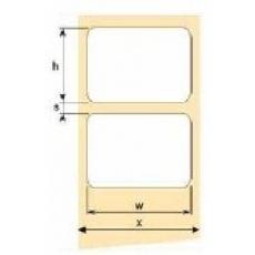 OEM samolepiace etikety 100mm x 150mm, biely papier, cena za 500 ks