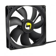 SilentiumPC přídavný ventilátor Zephyr 120PWM/ 120mm fan/ ultratichý 15 dBA