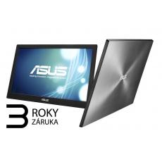 ASUS LCD 15.6 MB168B 1366x768, 200cd, 11ms, napájení USB 3.0, ASUS SMART CASE