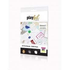ControvARTsial Náhradní folie A4 pro PlayFoil – GOLD (24 x A4)