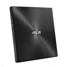 ASUS DVD Writer SDRW-08U7M-U BLACK RETAIL, External Slim DVD-RW, black, USB