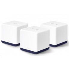 MERCUSYS Halo H50G(3-pack) [AC1900 Whole Home Mesh Wi-Fi System]