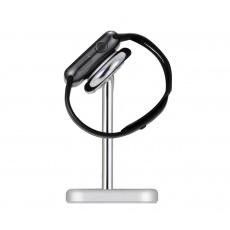 COTEetCI nabíjecí stanice Base21 pro Apple Watch stříbrná