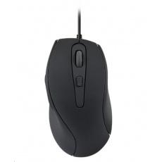 SPEED LINK myš AXON Silent & Antibacterial Mouse, USB, černá