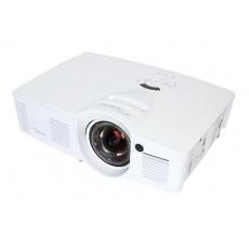 Optoma projektor GT1080e short throw (DLP, FULL 3D, 1080p, 3 000 ANSI, 25 000:1, 2x HDMI, MHL, USB, 10W speaker)