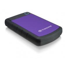 """TRANSCEND externí HDD 2,5"""" USB 3.0 StoreJet 25H3P, 1TB, Purple (nárazuvzdorný)"""