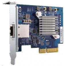 QNAP QXG-10G1T Síťová rozšiřující karta pětirychlostní sítě 10 GbE, jednoportová 10GBASE-T pro PC/NAS