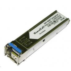 SFP [miniGBIC] modul, 1000Base-LX, LC simplex konektor, WDM TX1310nm/RX1550nm SM, 20km (HP kompatibilní)