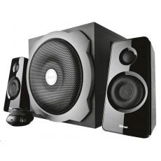 TRUST Reproduktory 2.1 Tytan Subwoofer Speaker Set -  black, černá