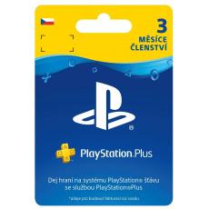 SONY PlayStation Plus Card Hang 90 dní (CZE)