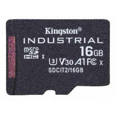 Kingston 16GB microSDHC Industrial C10 A1 pSLC Card Single Pack