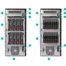 HPE PL ML110g10 4208 (2.2G/8C) 1x16G S100i 4LFF 550Wn NBD333 iQuote
