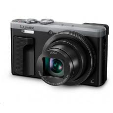 "Panasonic DMC-TZ80 silver (18 Mpx MOS, 30x zoom LEICA, 4K, 3"" LCD+LVF, Wi-Fi, RAW)"