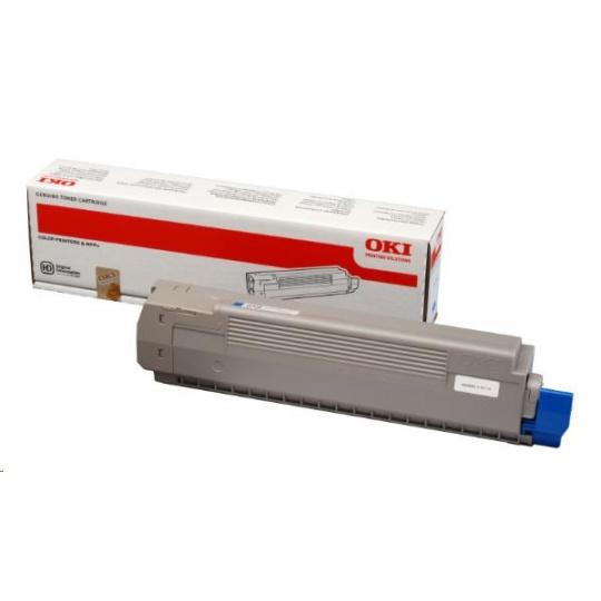 Oki Toner Cyan do C801/C821 (7 300 stránek)