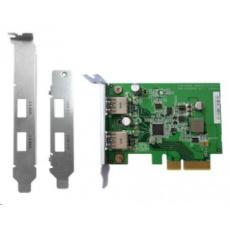 QNAP USB-U31A2P01 rozšiřující karta 2xUSB3.1